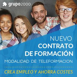Contrato de formación - Grupo2000