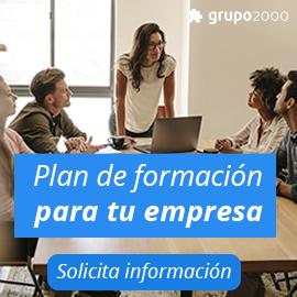 Cursos gratuitos para desempleados  - Grupo2000