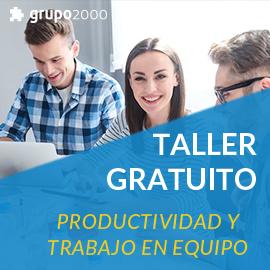 Taller gratuito sobre productividad y trabajo en equipo el Almería.